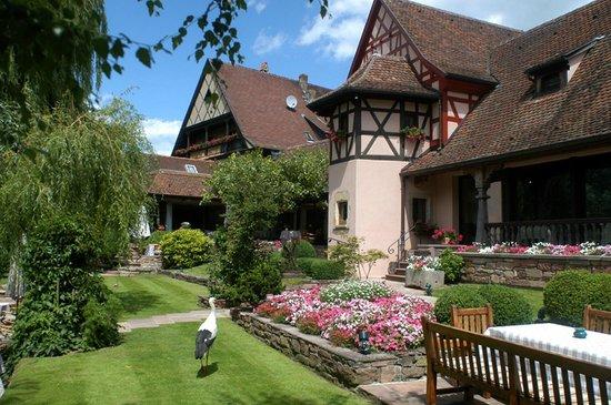 Illhaeusern, France : Le jardin de la cygogne