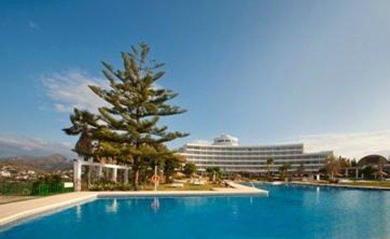 Hotel TRH Paraiso Costa del Sol: Piscina y jardin
