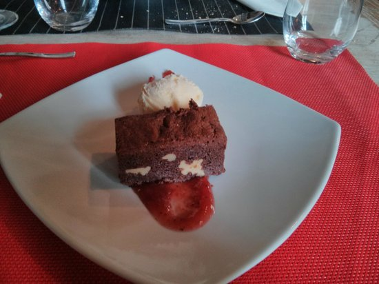 els jardins de la merce: Brownie de chocolate casero