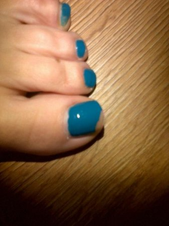 Champneys Guildford Day Spa: Poor pedicure