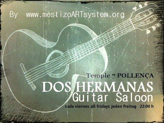 DOS HERMANAS Guitar Saloon