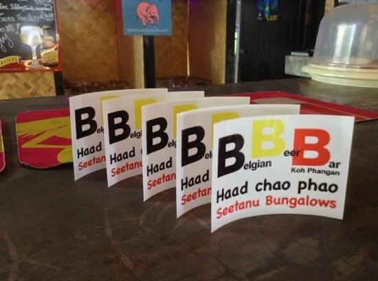 Belgian Beer Bar/restaurant: bar