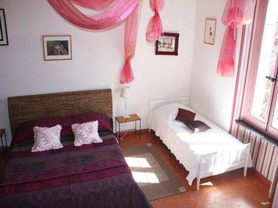 Castelnau-d'Aude, Prancis: chambre Puilaurens