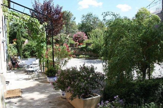 Castelnau-d'Aude, Prancis: jardin