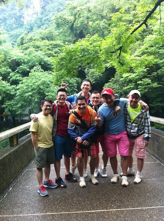 Guilin Central Hostel: We all had good time!!
