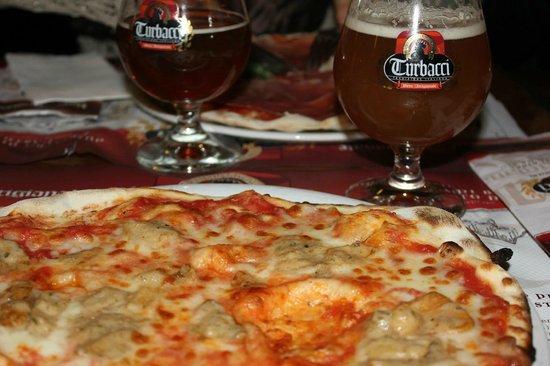 Birrificio Turbacci : Pizza e Birra