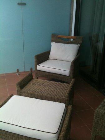 El Aurassi Hotel : balcon