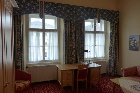 Hotel Mader: Ansicht zum Stadtplatz