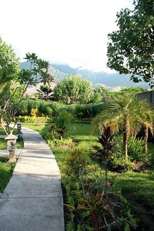 Man's Cottages & Spa: Garten