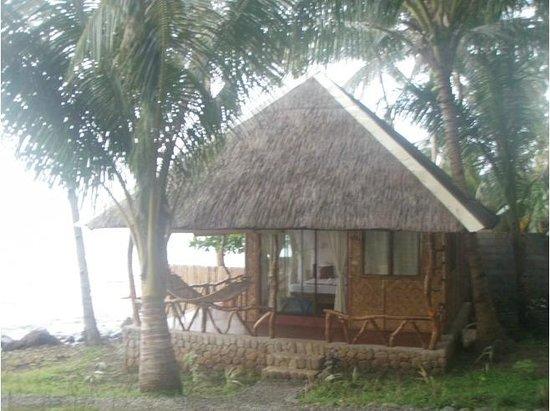Camiguin Volcan Beach Eco Retreat & Dive Resort: beachvilla at camiguin beach eco retreat