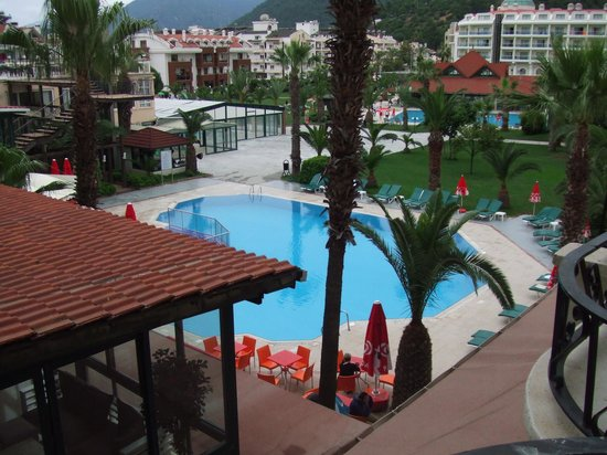 Club Hotel Pineta: PIcture from balcony