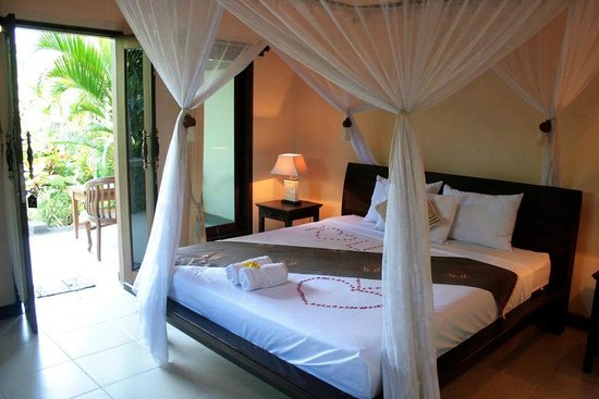 Man's Cottages & Spa: Bungalow-Zimmer