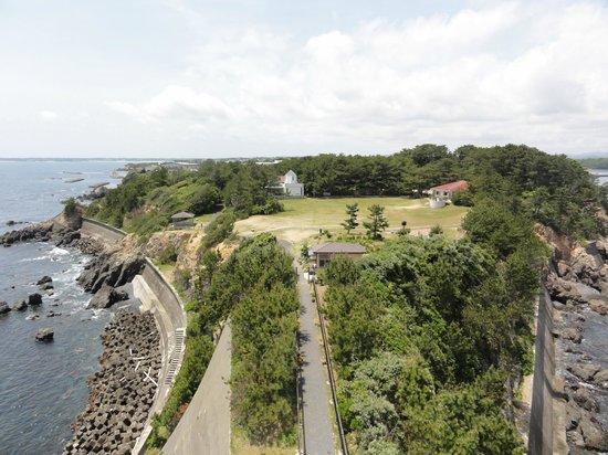 Anorisaki Lighthouse: 陸側