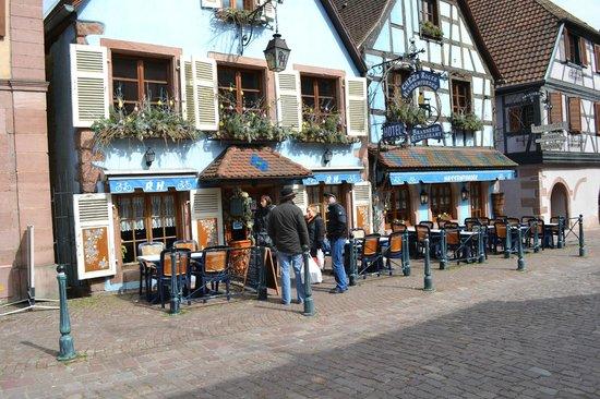 vue extérieur du restaurant Hassenforder