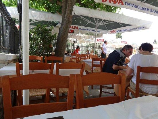 Veranda: Relaxed atmosphere