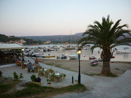 Porto Finissia: Early evening in Finikounda