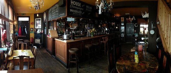 The Bohemian: Bar from beach