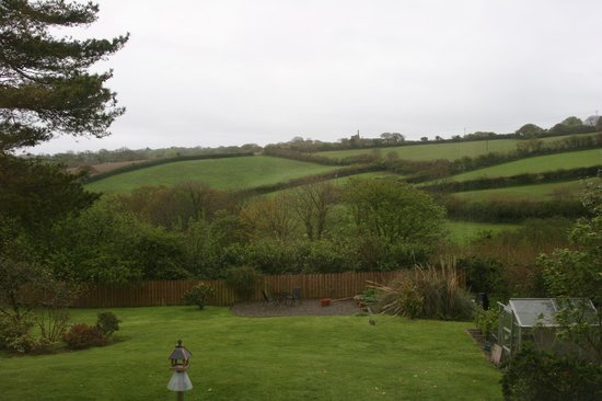 Trelowth, UK: View from the Heligan room
