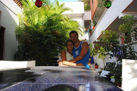 Hostelito Cozumel: cocina y espacio común