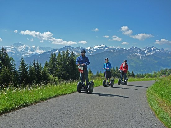 Mobileo Segway Tours Interlaken: Mountaintour ab Interlaken