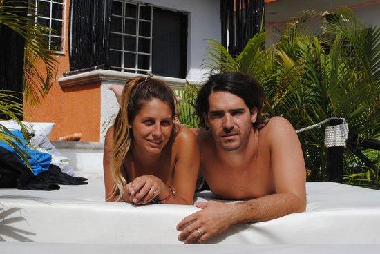 Hostelito Cozumel: solarium
