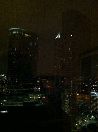 Hyatt Regency Houston: views from room on 28th floor