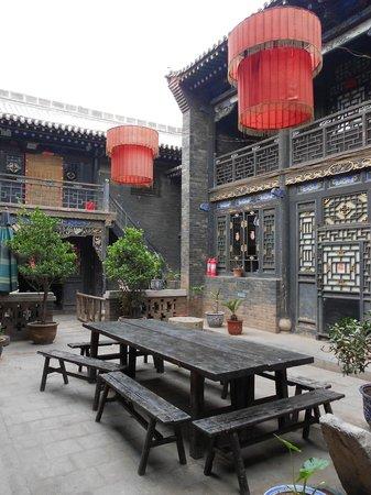 Zhengjia International Youth Hostel: Cour intérieure