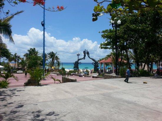 Hacienda Tres Ríos: playa del Carmen