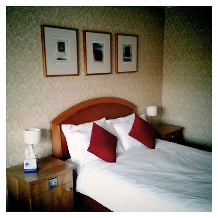 Premier Inn Newcastle City Centre (Millennium Bridge) Hotel : Chambre