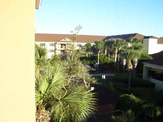 Courtyard Orlando Lake Buena Vista at Vista Centre: Blick vom Balkon