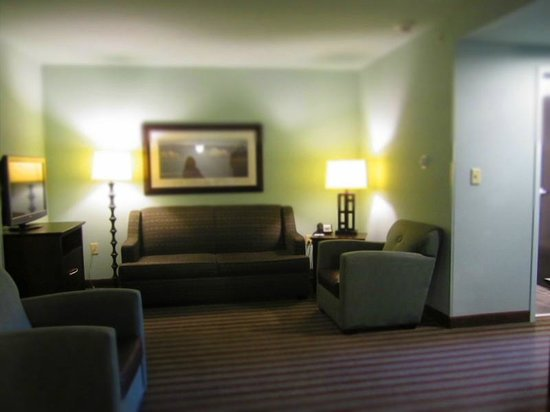 Holiday Inn Hotel & Suites, Williamsburg-Historic Gateway : Living room in suite