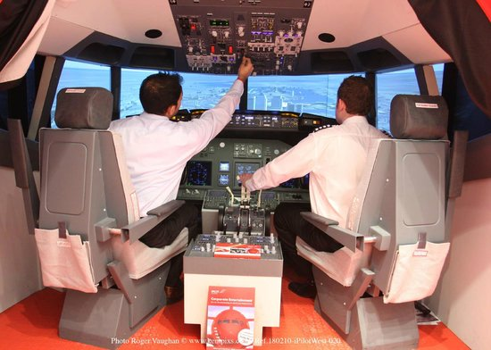 iPILOT Flight Simulator Experience