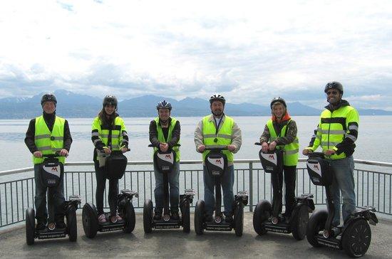 Mobileo Segway Tours Interlaken: Unsere Guides aus Lausanne