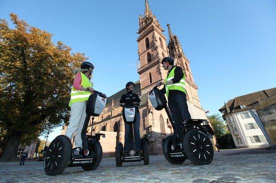 Mobileo Segway Tours Interlaken: Tour in Basel