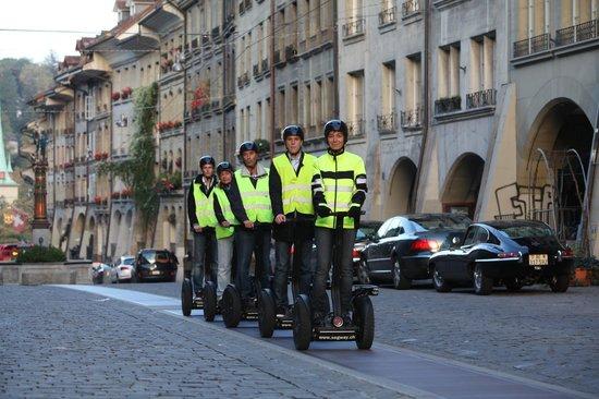 Mobileo Segway Tours Interlaken: Tour in Bern