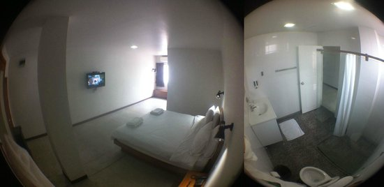 The NooK Bangkok: Double room in the 'behind' house, 4th floor