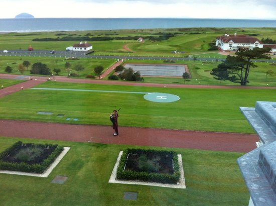 Turnberry Resort Golf Courses: View from our room