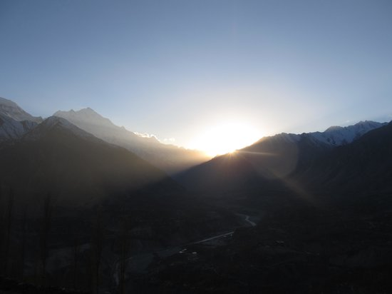 Hunza Valley: Sunset in Hunza