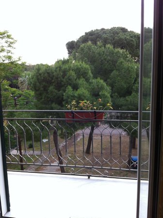 Hotel Giardino Inglese: View from the room