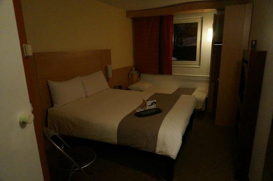 Ibis London Barking: 部屋は綺麗です