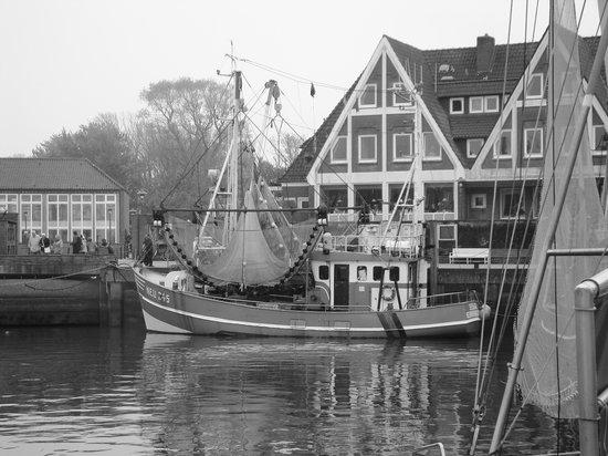Janssen's Hotel: Der Hafen im Nebel