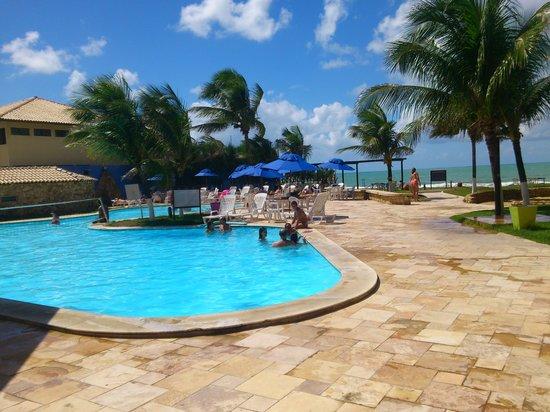 Prodigy Beach Resort Marupiara: uma parte da área de lazer