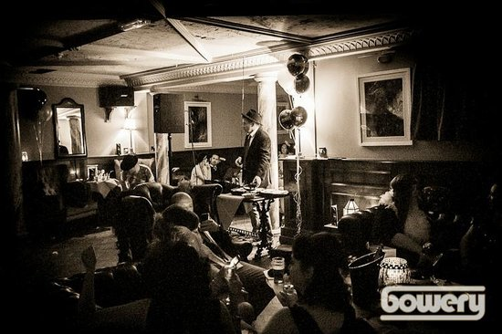 The Bowery: The Berwick Room, perfect spot for cosy parties