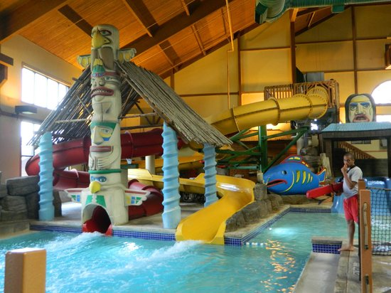 Great Wolf Lodge: small toddler slides