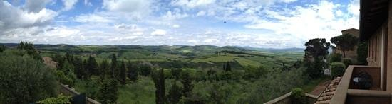 Piccolo Hotel La Valle Pienza: Room with a view !
