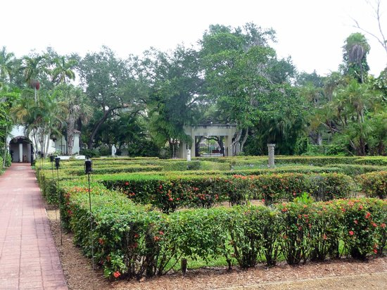 The Ancient Spanish Monastery : One view of the gardens