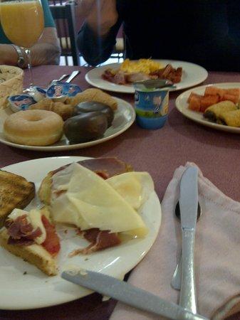 Hotel Spa Norat Torre do Deza: Desayuno
