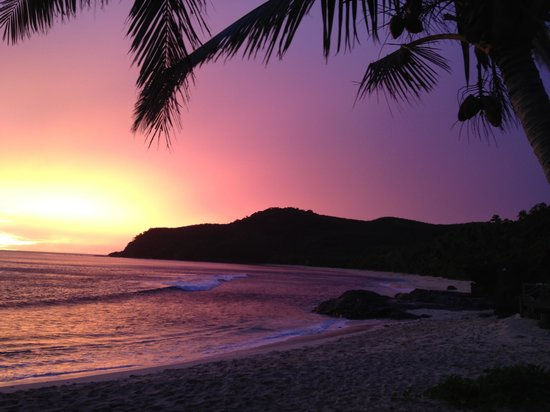 Octopus Resort: Spectacular sunset in May 2013