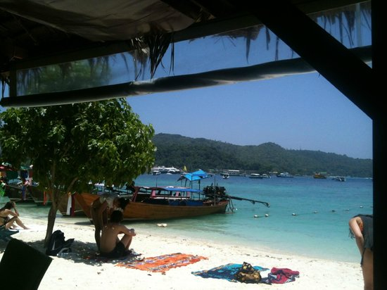 PP Nice Beach Resort: Stranden udenfor resortet