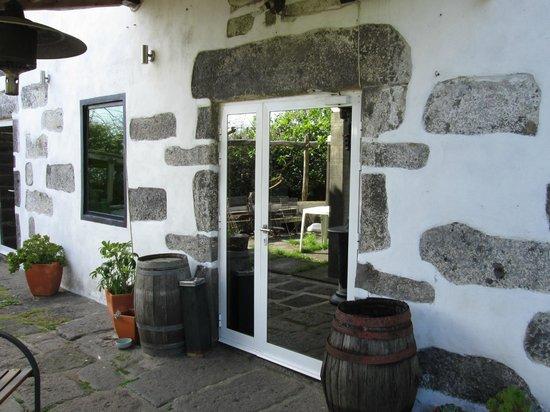 Six: Entrance door